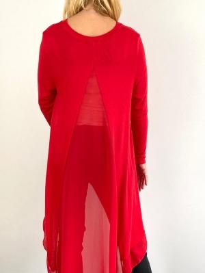 light red knitwear Thumb