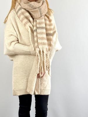 light striped scarfe