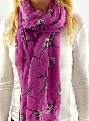 Purple scarfe Thumb