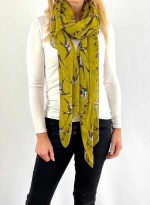 Yellow scarfe