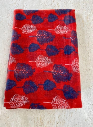Red & blue scarfe Thumb