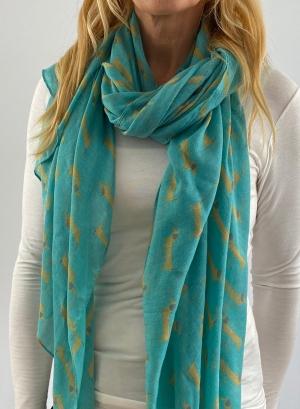 Turquoise scarfe Thumb